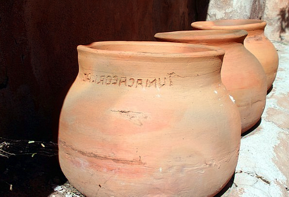Tumacocari Ceramic Arizona Pottery Clay Earthen Ve