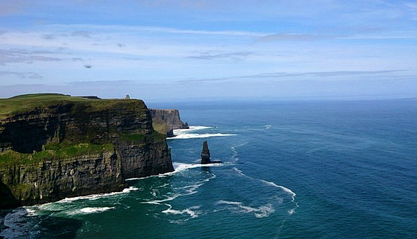 Cliff Of Mohar Vacation Travel Cliff Precipice Gal