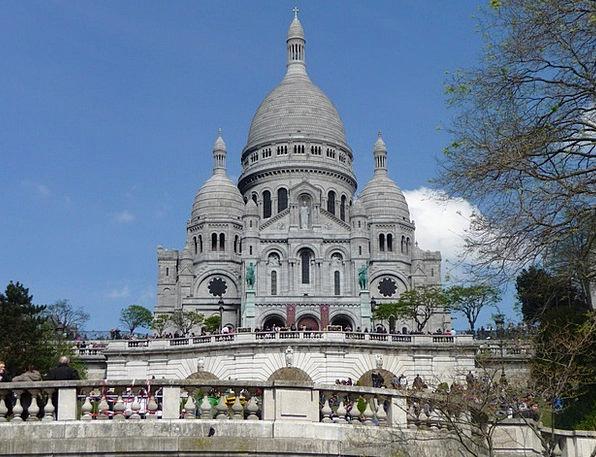 Sacré Coeur Church Ecclesiastical Paris France Mon