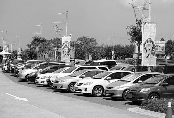 Parking Lot Traffic Common Transportation Parking
