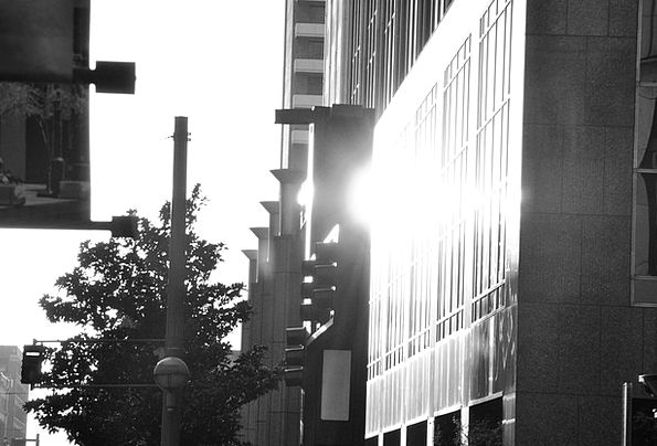 Dallas Buildings Center Architecture Sunlight Suns