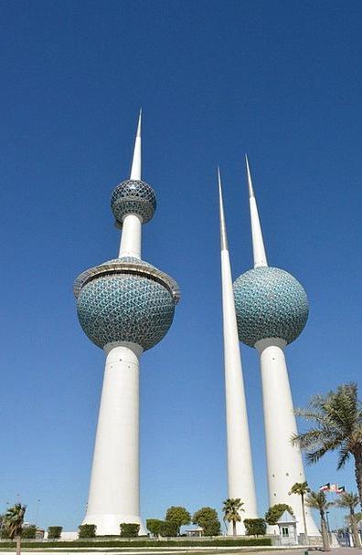 Kuwait Towers Buildings Breakthroughs Architecture