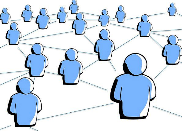 Social Media Communication Individual Computer Soc