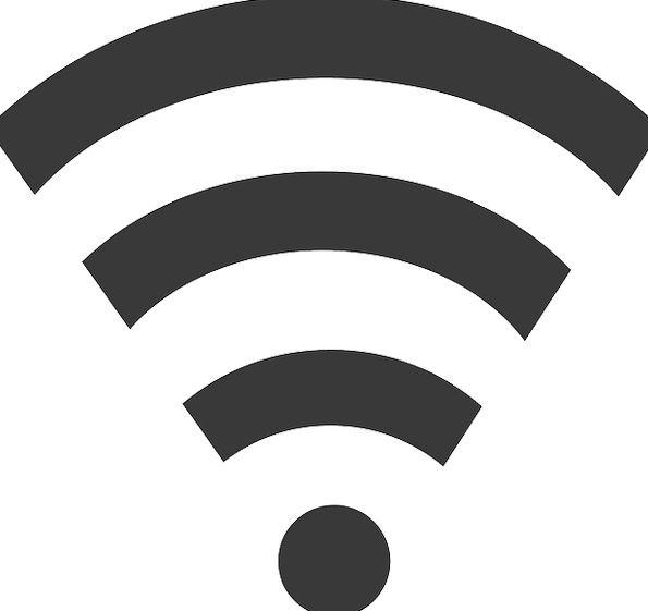 Wlan Communication Sign Computer Black Dark Signal