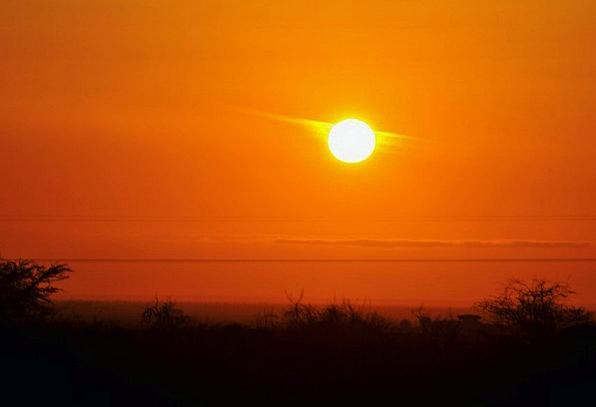 Sunset Sundown Vacation Blue Travel Sun Sky Evenin