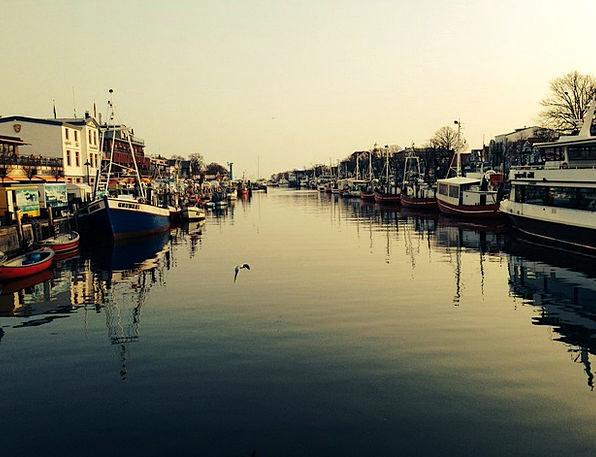 Warnemünde Aquatic Port Harbor Water Boot Gumboot
