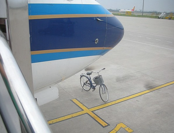 Airplane Aircraft Vacation Bike Travel Air Safety