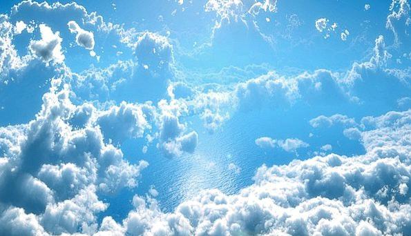 Clouds Vapors Landscapes Azure Nature Water Aquati