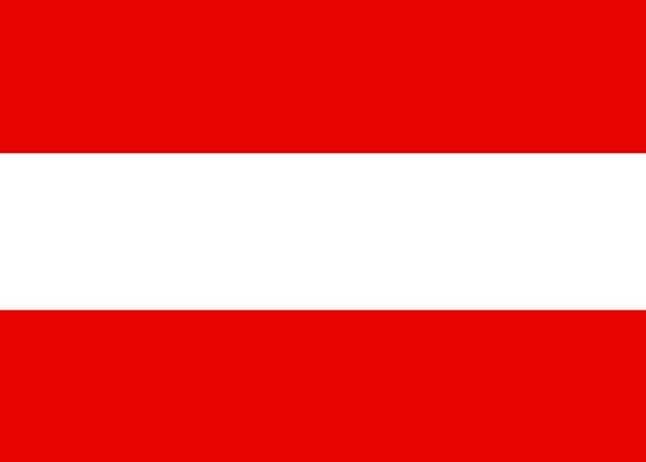 Austria Standard National Nationwide Flag Symbol S