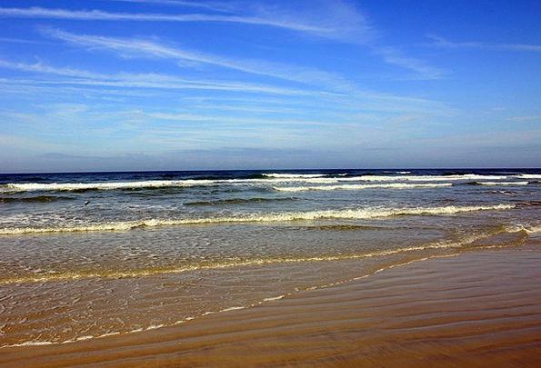 Daytona Beach Vacation Marine Travel Sky Blue Ocea