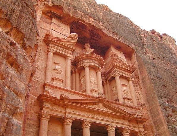 Khazneh Capital Petra Treasury Jordan