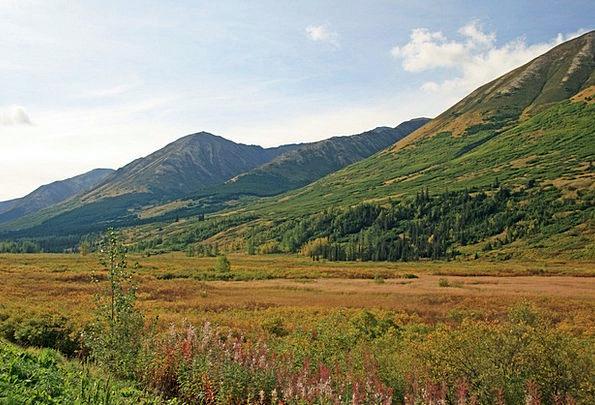 Alaska Landscapes Wasteland Nature Mountain Crag W