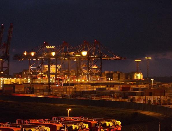 Container Port Harbor Port Handling Port Harbour C