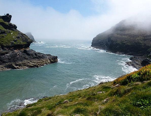 Cornwall Landscapes Nature Coast Shore Boscastle V