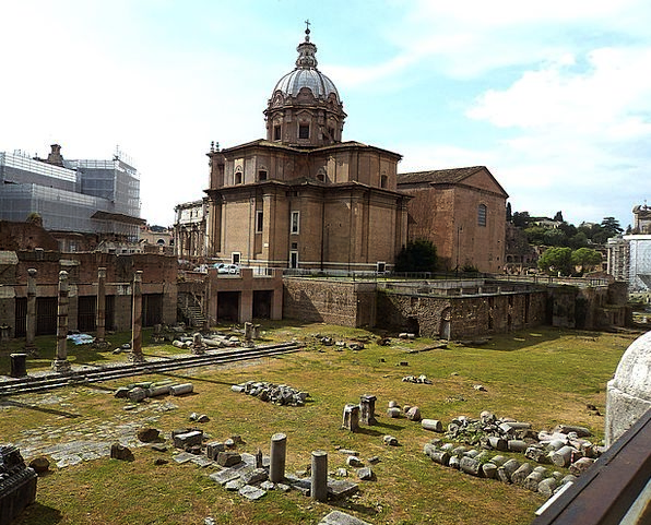 The Roman Forum Buildings Building Architecture Ol