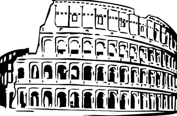 Colosseum Buildings Classical Architecture Buildin