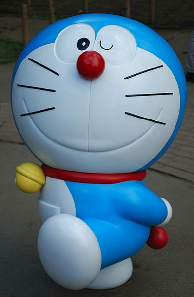 Doraemon Anime Dorachan Japan Cat Symbol Feline
