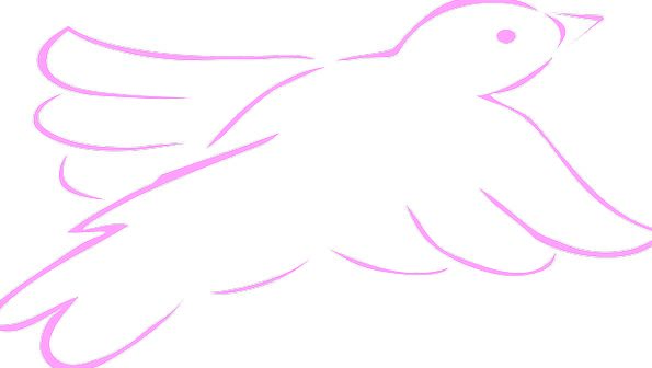 Pink Flushed Fowl Dove Pacifist Bird Wings Annexes