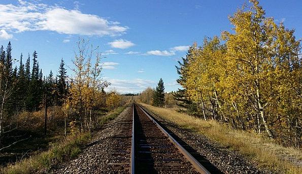 Train Tracks Traffic Republic Transportation Rural