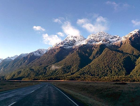 New Zealand Traffic Crags Transportation Road Stre