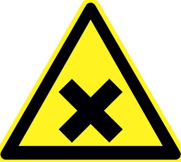 Irritant Nuisance Hazard Warning Cautionary Danger