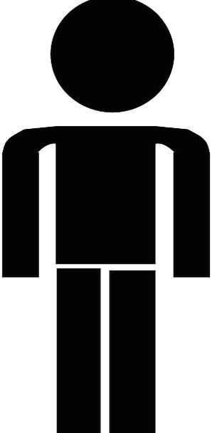 Man Gentleman Public Symbols Ciphers People Black