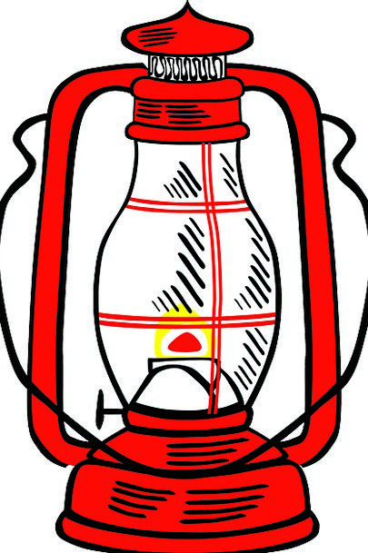Oil Lamp Lamp Red Bloodshot Lantern Free Vector Gr