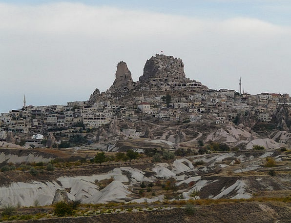 Uchisar Buildings Architecture Cappadocia Place Ci