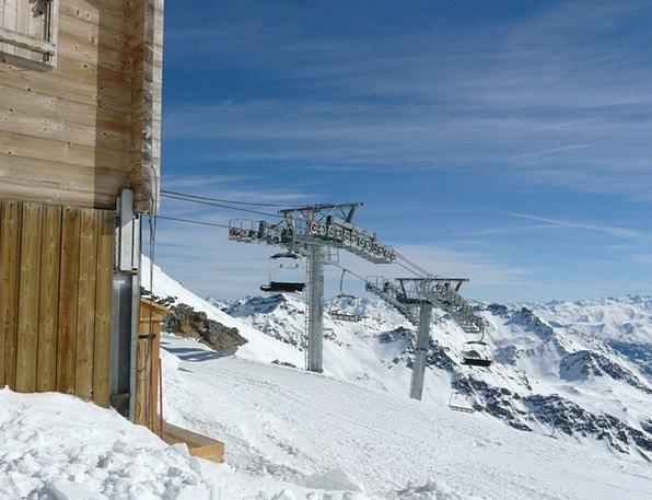 Chairlift Mountain Railway Cable Car White Ski Lif