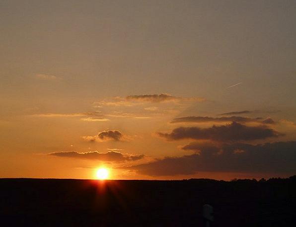 Sunset Sundown Vacation Travel Clouds Vapors Sun M