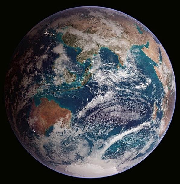Earth Soil World Biosphere Globe Eastern Hemispher