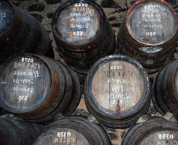 Botti Wine Mauve Tino Oporto Portugal Wood Barrel