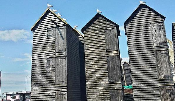 Hastings Seaside Resort East Sussex Fishing Villag