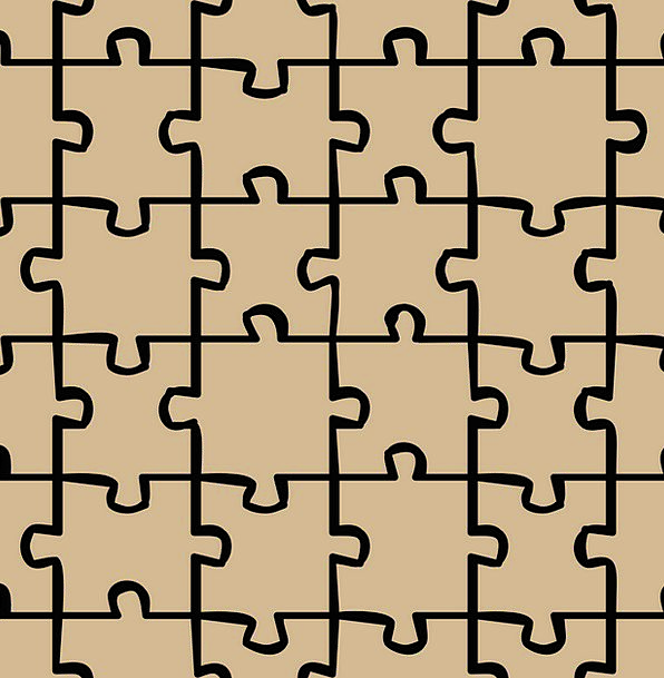 Puzzle Mystery Textures Backgrounds Pattern Design