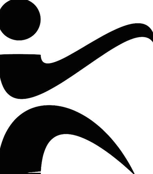 Karate Military Arts Paintings Martial Logo Symbol