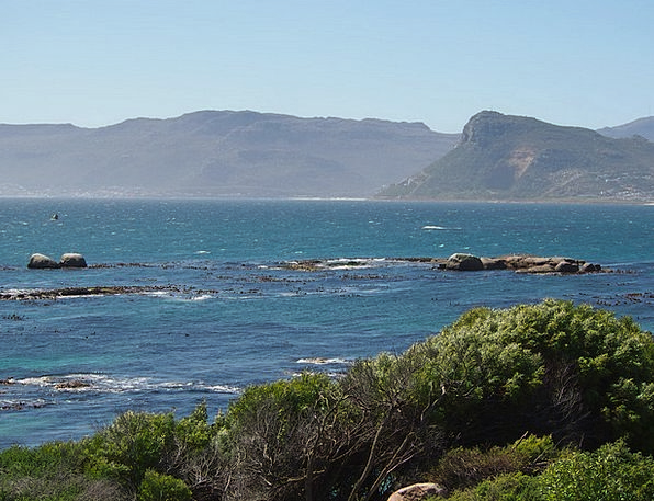 South Africa Landscapes Marine Nature Coast Shore