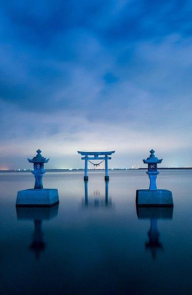 Japan Vacation Travel Shrine Memorial Kumamoto Sun