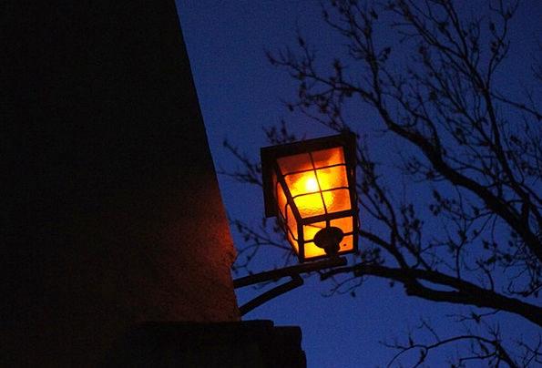 Lamp Uplighter Street Lamp Lantern Dark Historic S