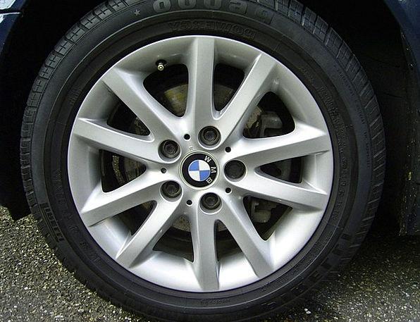 Alloy Wheel Rim Edge Bmw Vehicle Wheel Asphalt Mat