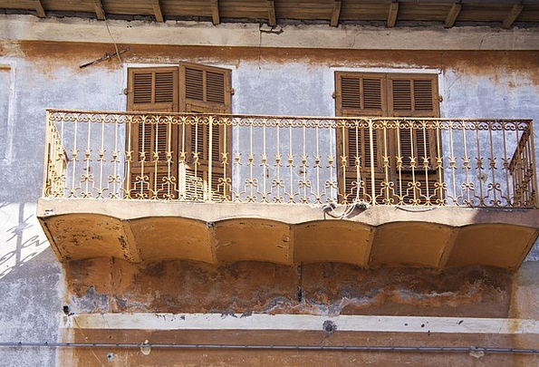 Italy Liguria Buildings Architecture Decay Deterio