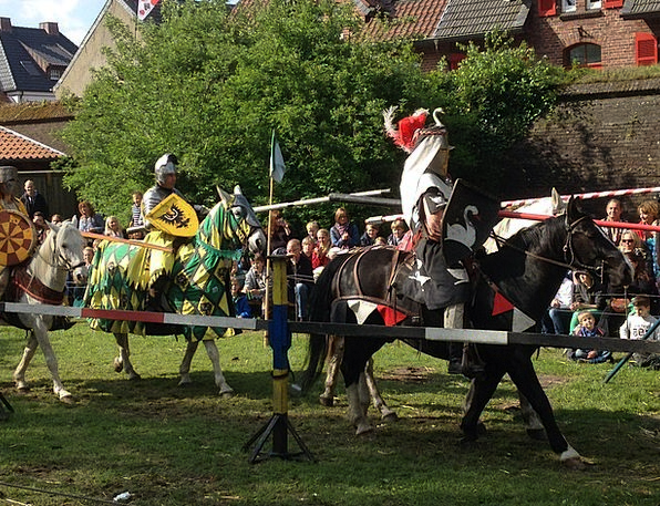 Knight Games Monuments Places Germany Xanten Knigh