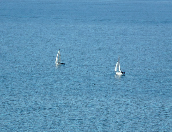 Sailing Boats Navigate Water Aquatic Sail Blue Azu