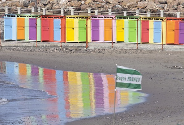 Beach Cabins Vacation Marine Travel Beach Seashore