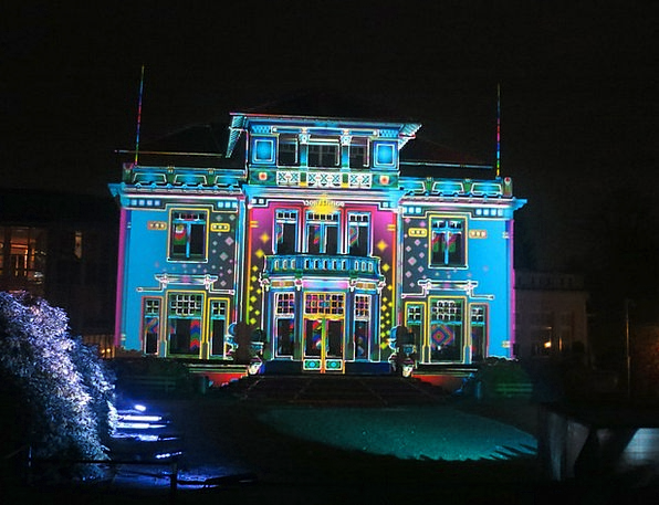 Brand Make Dommel Hoof Annual Light Festival 2013