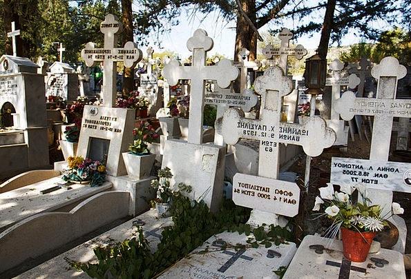 Burial Interment Cross Irritated Cemetery Religion