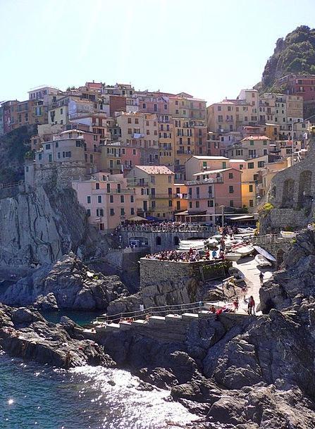 Italy Vacation Travel Travel Portable Cinqueterra