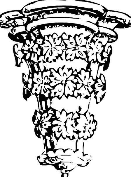 Corner Medallion Architectural Feature Crown Moldi