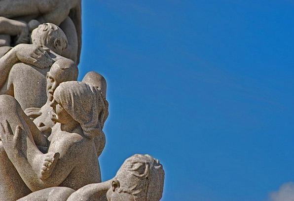 Oslo Statue Figurine Norway Vigeland Scandinavia