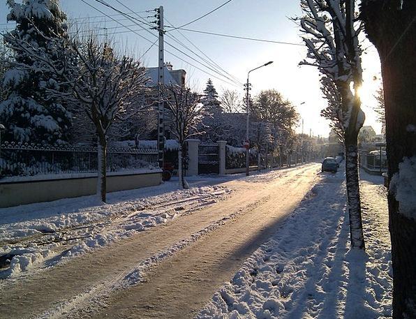 Street Road Traffic Snowflake Transportation Cold