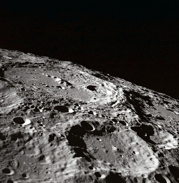Moon Romanticize Crater Hollow Moon Craters Mystic